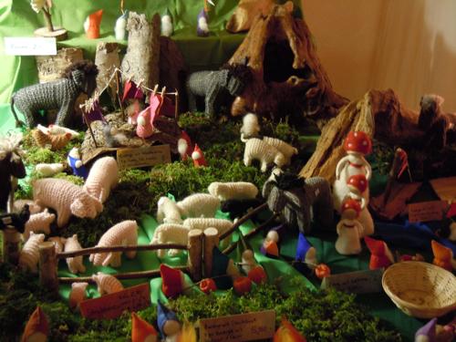 Waldorfkindergarten schw bisch gm nd 2011 for Raumgestaltung waldorfkindergarten
